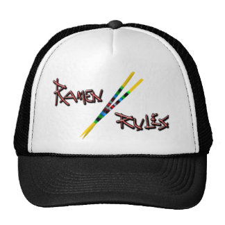 Ramen Rules Trucker Hat