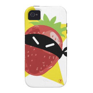 Ramène pas ta fraise !! © Les Hameçons Cibles Case-Mate iPhone 4 Cover