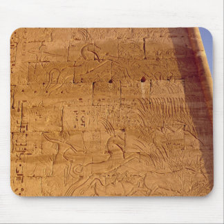 Ramesses III  hunting wild bulls Mouse Pad