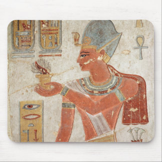 Ramesses III  in battle dress Mouse Pad