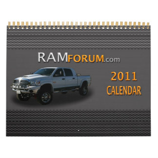 Ramforum.com 2011 Calendar