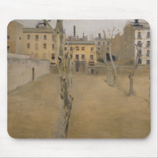 Ramon Casas -Courtyard of the Old Barcelona Prison Mouse Pad