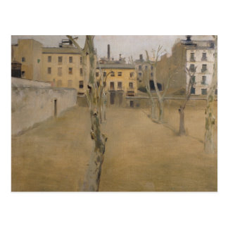 Ramon Casas -Courtyard of the Old Barcelona Prison Postcard