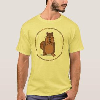 Ramon The Squirrel Light Cartoon T-Shirt