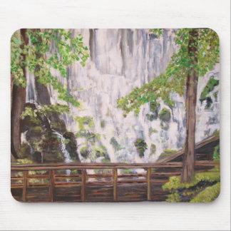 Ramona Falls on Mount Hood - Mousepad