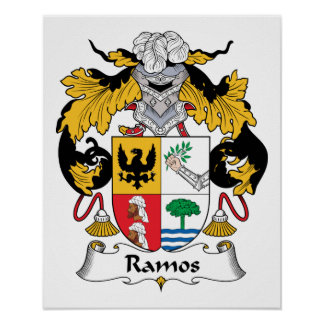 Ramos Family Crest Poster