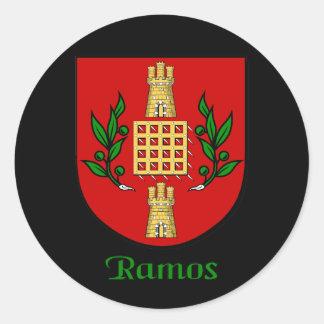 Ramos Family Shield Stickers