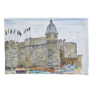 Ramparts  & Gate of Concarneau | Brittany, France Pillowcase