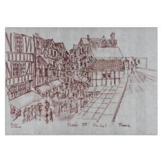 Ramparts, Mont Saint-Michel | Normandy, France Cutting Board