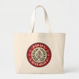 Ramsay University Red Canvas Bag