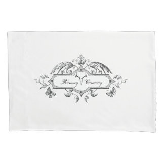 Ramsey Caraway Monogram Pillowcase