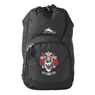 Ramsey Family Crest Coat of Arms Backpack
