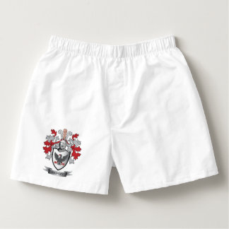 Ramsey Family Crest Coat of Arms Boxers