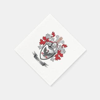 Ramsey Family Crest Coat of Arms Disposable Napkins