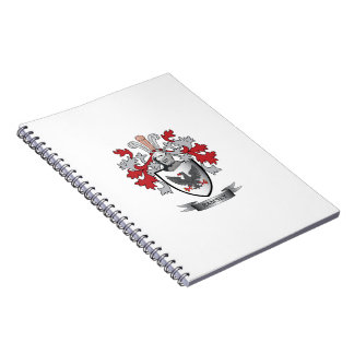 Ramsey Family Crest Coat of Arms Notebook