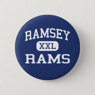 Ramsey - Rams - High School - Ramsey New Jersey 6 Cm Round Badge