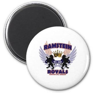 Ramstein Royals Spirit 6 Cm Round Magnet
