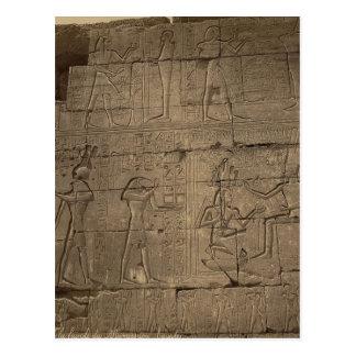 Ramusseum. Egypt circa 1867 Postcard