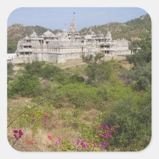Ranakpur Jain Temple, Ranakpur, Rajasthan, India Square Sticker