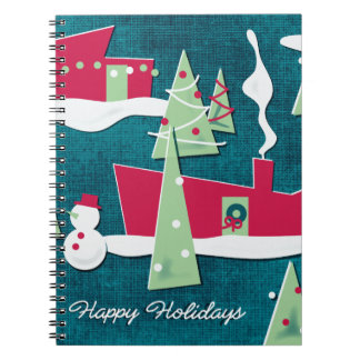 Ranch Dressing Retro Christmas Notebook