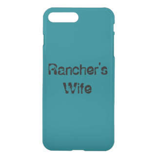 Rancher's Wife phone case