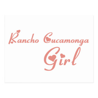 Rancho Cucamonga Girl tee shirts Postcard