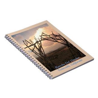 Rancho Del Vinedos Temecula CA arch notebook