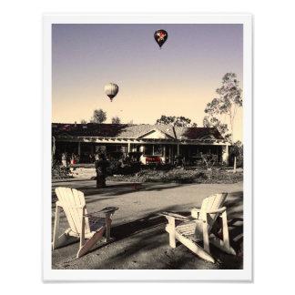 Rancho Del Vinedos Temecula, CA pirate balloon Photo Print