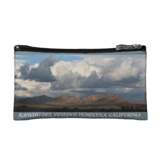 Rancho Del Vinedos Temecula makeup bag purse View