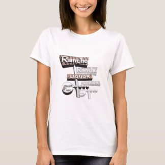 Rancho Liquor Store Neon Sign T-Shirt
