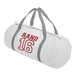 Rand 16 Campaign Jersey Gym Duffel Bag