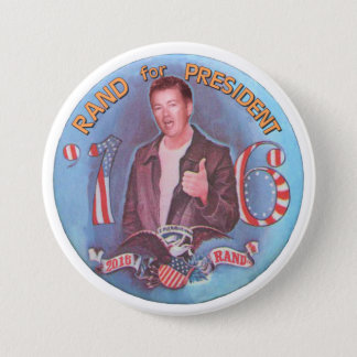 Rand for President '16 7.5 Cm Round Badge