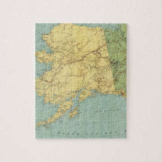 Rand McNally's Map Of Alaska Jigsaw Puzzle