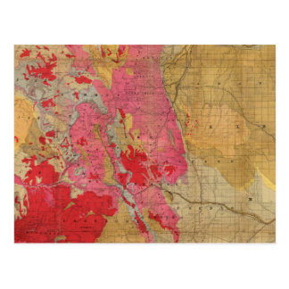 Rand McNally's new geological map Postcard