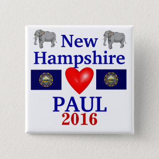 Rand Paul 2012 New Hampshire 15 Cm Square Badge