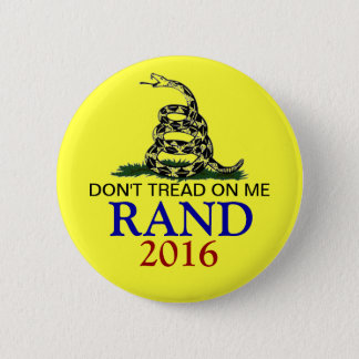 Rand Paul 2016 6 Cm Round Badge