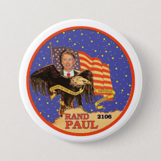 Rand Paul 2016 7.5 Cm Round Badge