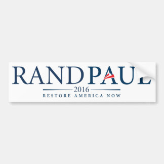 Rand Paul 2016 Bumper Sticker