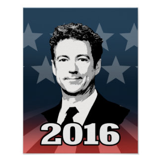 RAND PAUL 2016 CANDIDATE POSTER
