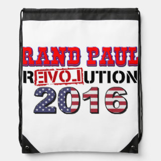 Rand Paul 2016 drawstring bag