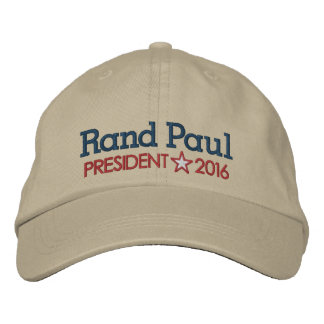 Rand Paul 2016 Embroidered Hat