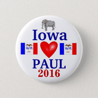 rand paul 2016 Iowa 6 Cm Round Badge