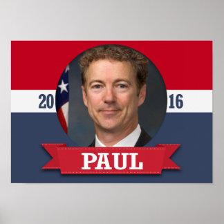 Rand Paul 2016 Poster