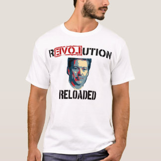 Rand Paul 2016 Revolution Reloaded T-Shirt