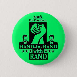 Rand Paul for President 2016 6 Cm Round Badge