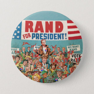 Rand Paul for President 2016 7.5 Cm Round Badge