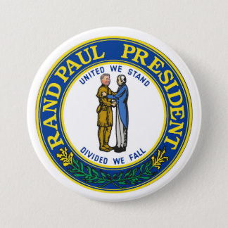 Rand Paul President 2016 7.5 Cm Round Badge