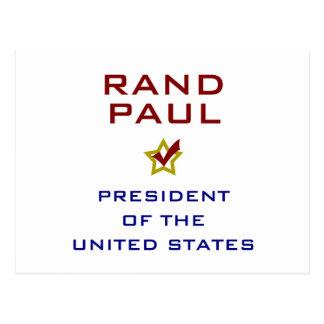 Rand Paul President USA V2 Postcards
