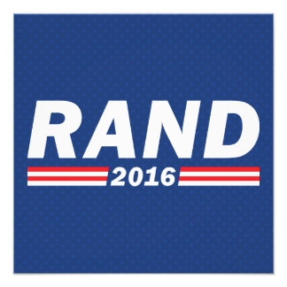Rand Paul, Rand 2016 Photo Print