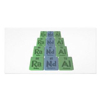 Randal as Radium Neodymium Aluminium Custom Photo Card